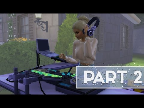 Let's Play: The Sims 4 (Part 2) DJ BEVERLY