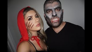 *FUNNY*  RED  RIDING  HOOD  &  WEREWOLF  TUTORIAL  ft. FIANCE | Edith Patatanyan
