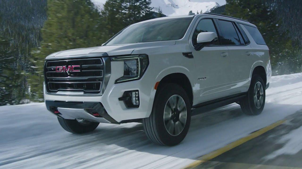 FIRST LOOK: 2021 GMC Yukon AT4 - YouTube
