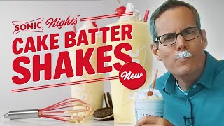 Is Sonic's NEW Cake Batter Shake worth the Drive?