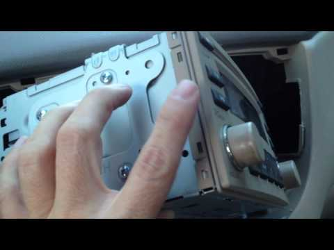 06 Kia Rio Aftermarket Iphone Radio Installation Youtube