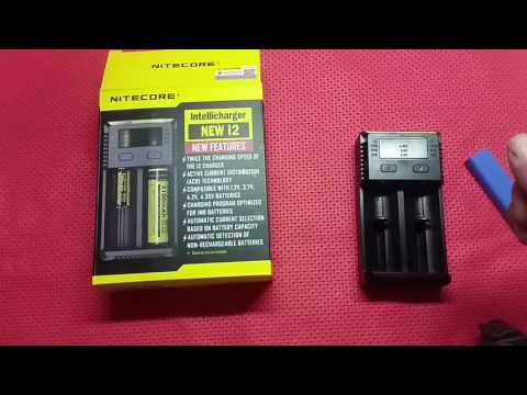 NITECORE INTELLICHARGER NEW I4 LI-ION CARICA BATTERIE