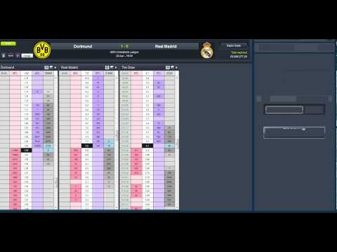 Dortmund v Madrid  scalping 3.5 goals and correct score