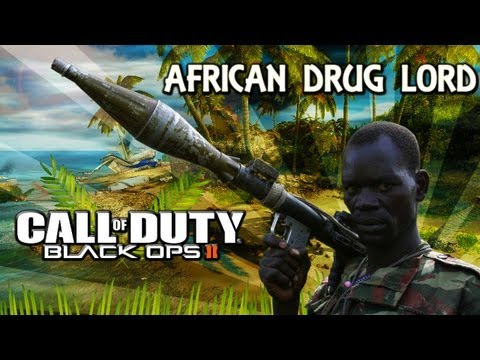 African Drg Lord Plays Black Ops 2 - Episode 1