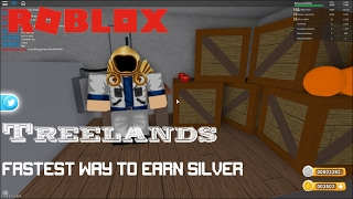 Roblox: TreeLands How to get silver fast