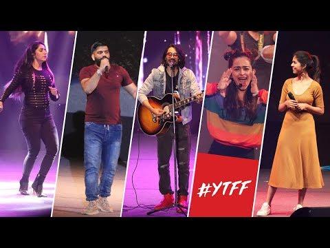 Youtube Fanfest Delhi 2018 | BB ki Vines, Technical Guruji, CarryMinati!!
