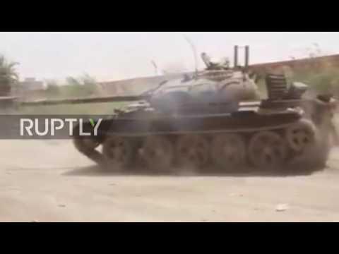 Libya: LNA unleashes fire power as clashes dog Benghazi