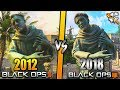 Black Ops 4 REMASTERED Maps Graphic COMPARISON
