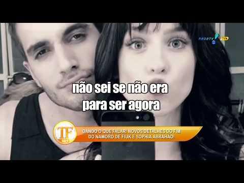 Fiuk Conta Segredo Da Nova Paixão De Fábio Jr  - TV Fama 01/05/2014