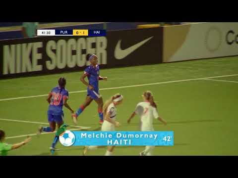 CU17W 2018: Puerto Rico vs Haiti Highlights