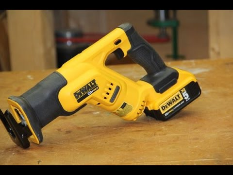 Dewalt dcs387 compact 20 volt reciprocating saw youtube greentooth Choice Image