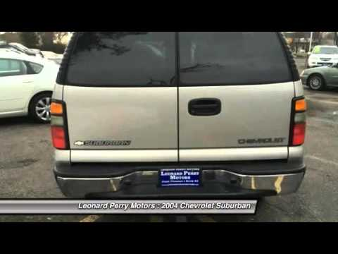 2004 chevrolet suburban 2500 ls 4wd 4dr suv point pleasant for Leonard perry motors nj