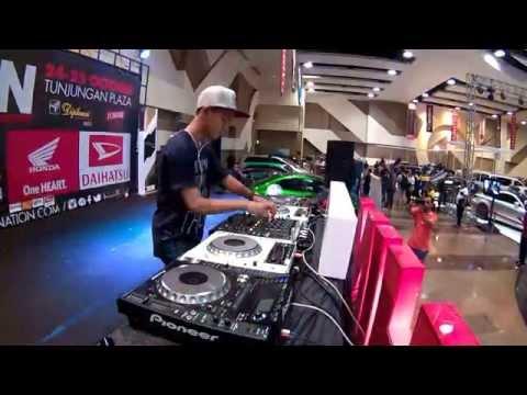 DJ Figars at HIN DJ Competation @HIN SURABAYA