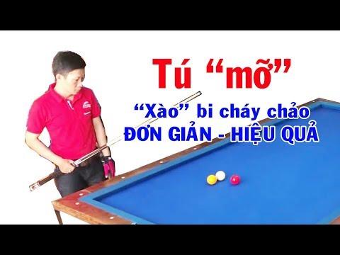 🔥 Tài liệu bida: Cách xào bi đơn giản hiệu quả- Cơ thủ Hữu Tú (Tú mỡ) bida phăng Carom billiards 당구