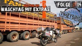 Folge #14 - Australien #1 - Waschtag mit Extras - Motorrad-Weltreise - TimetoRide.de