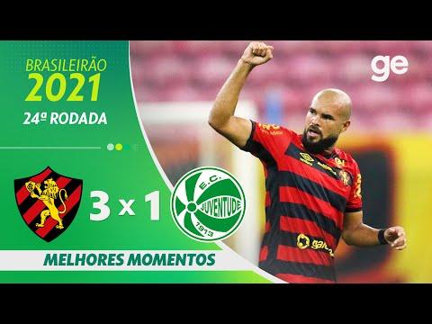 SPORT 3 X 1 JUVENTUDE | MELHORES MOMENTOS | 24ª RODADA BRASILEIRÃO 2021 | ge.globo