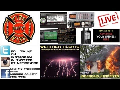 11/07/18 AM Niagara County Fire Wire Live Police & Fire Scanner Stream