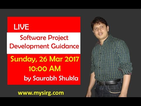 Software project development guidance | LIVE Seminar