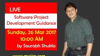 Software project development guidance | LIVE Seminar