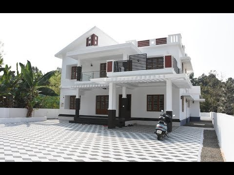 Modern Double Floor House 1500 Sft for 15 Lakh | Elevation ...