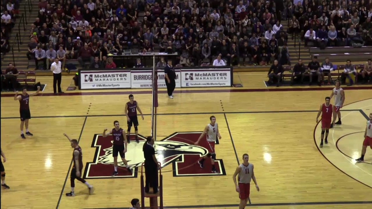 0c1af1d6e92c McMaster vs. Ohio State Men s Volleyball - Nike Team NA Challenge ...