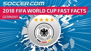 Germany - 2018 FIFA World Cup Fast Facts