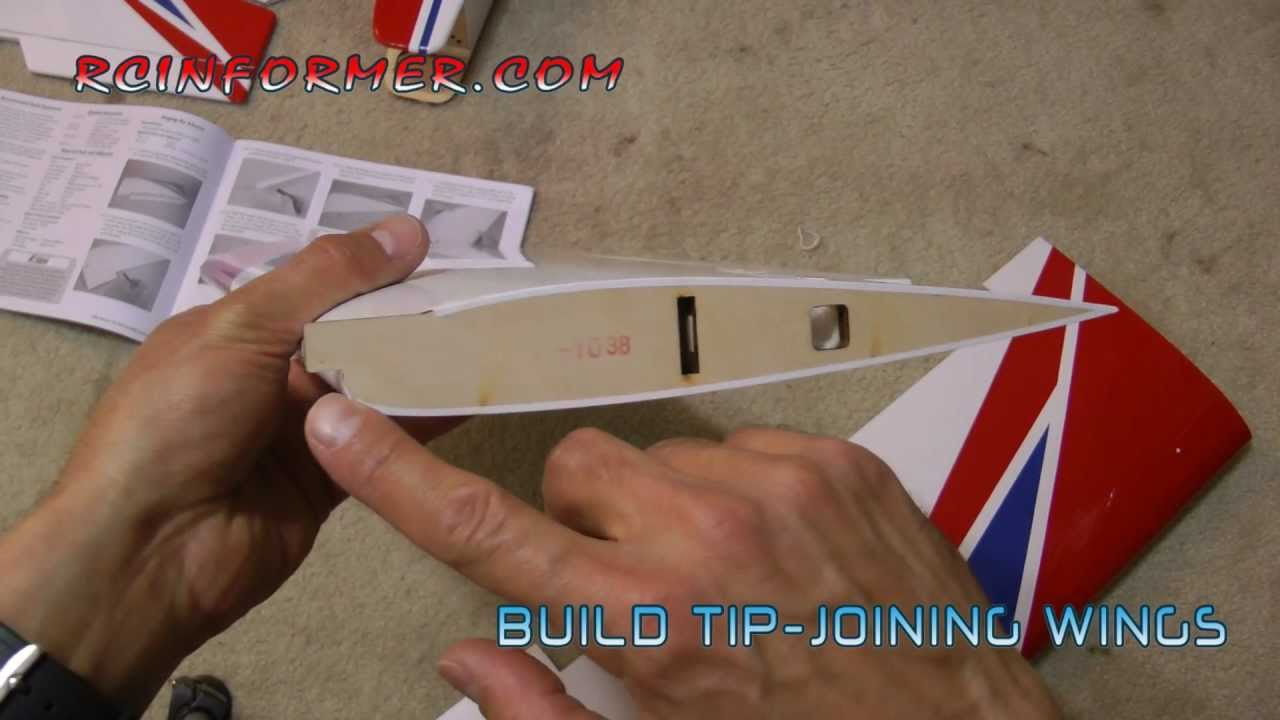 joining rc airplane wing panels by rcinformercom