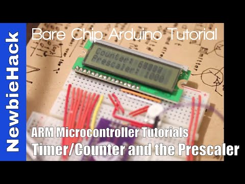 41  How to use Timers Counters and the Prescaler on the