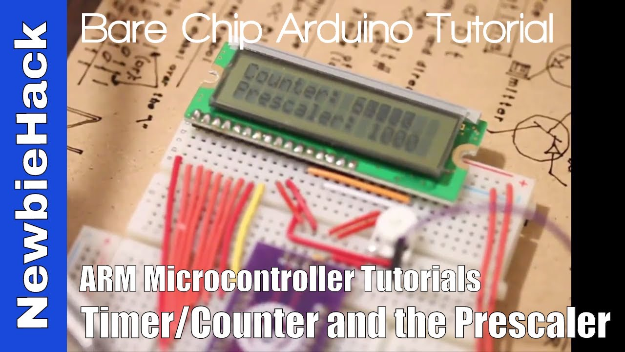 41  How to use Timers Counters and the Prescaler on the STM32 ARM  Microcontroller