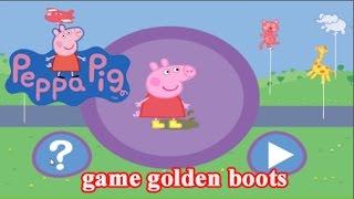 Peppa Pig game golden boots - Game for kids - jjjjjjjjjjjj