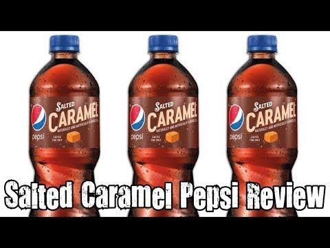 Salted Caramel Pepsi Review - Soduh