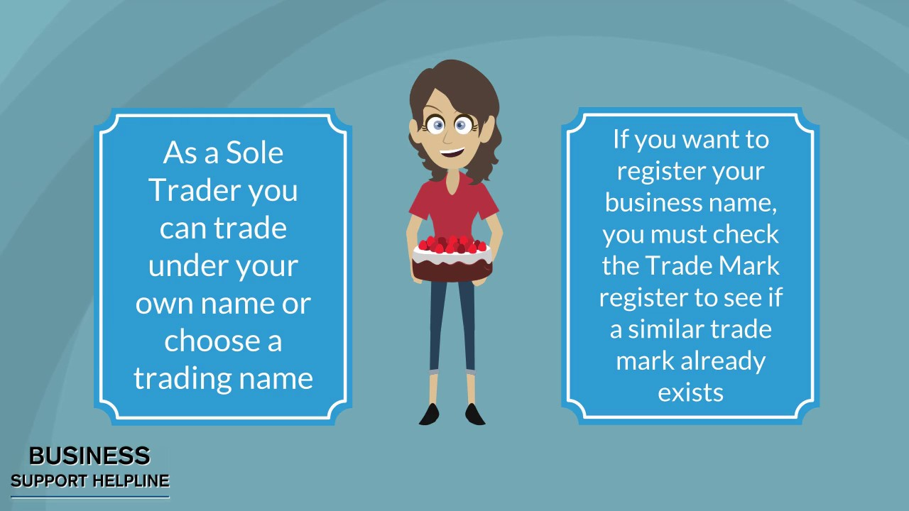 Sole Trader Help - How to set up in business