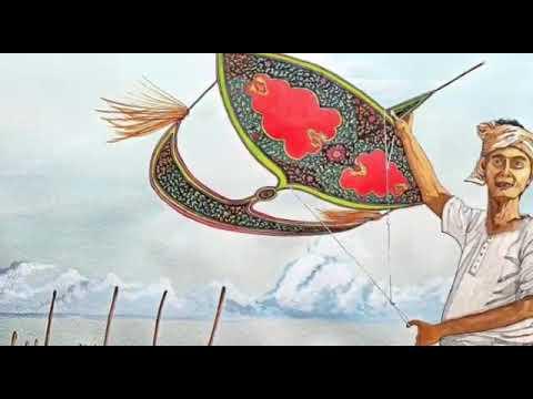 Permainan Tradisional Wau Bulan Youtube