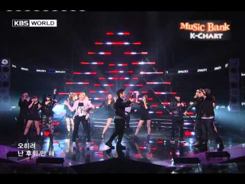 Music Bank KChart 2NE1  Go Away 2010924