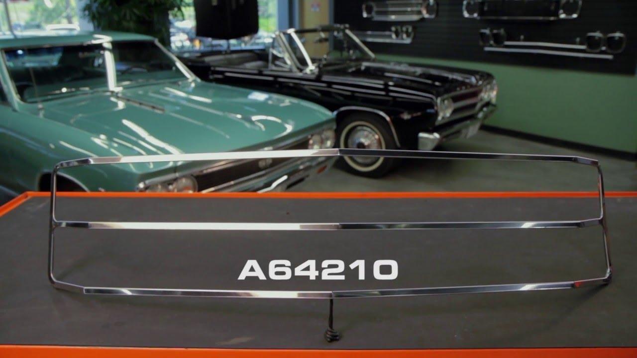 opgi product spotlight 1971 chevelle el camino grille molding kit youtube. Black Bedroom Furniture Sets. Home Design Ideas
