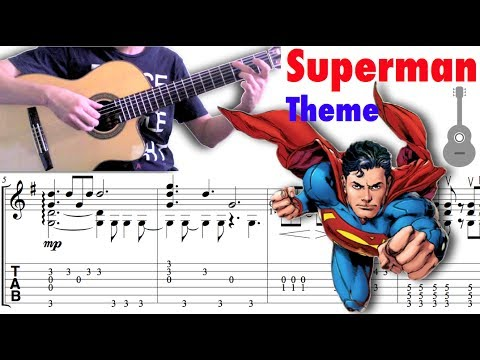 Superman Theme / John Williams (Guitar)  超人主題曲 (吉他)