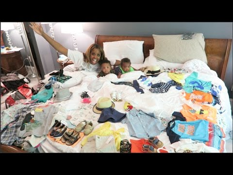 """""""WE'RE PACKING THE TWINS FOR THEIR 1ST VACATION!"""" 