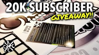 20k Subscriber Giveway: 4 CCxRC Branded Cow RC Mat Packs