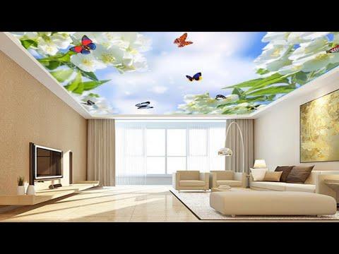 #ParadiseDecor #3dceiling  3d Wallpaper  For Best Amazing Ceilings Design 2019 (Paradise Decor)