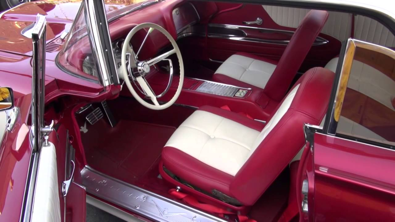 1960 thunderbird interior restoration by cooks upholstery redwood city youtube. Black Bedroom Furniture Sets. Home Design Ideas