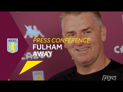 PRESS CONFERENCE   Dean Smith Pre-Fulham (A)