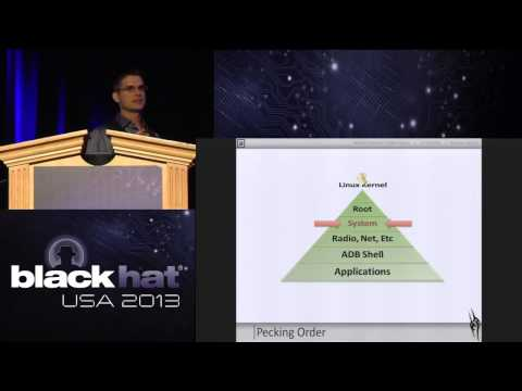 Black Hat 2013 - Android: One Root to Own them All