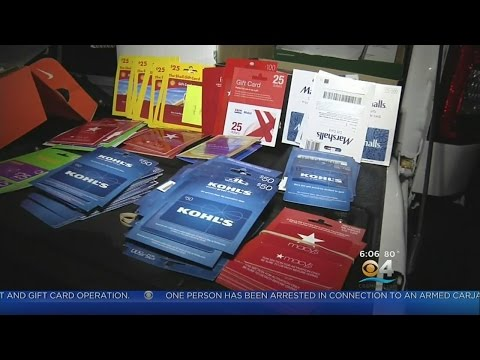 Large Counterfeit Credit & Gift Card Operation Busted
