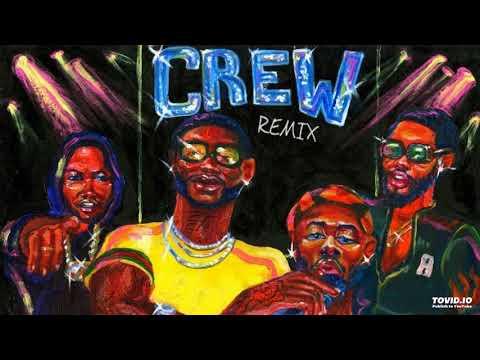 GoldLink - Crew REMIX FT. Gucci Mane, Brent Faiyaz, Shy Glizzy (Official Audio)