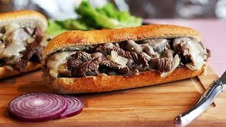 PHILLY CHEESE STEAK | Steak Sandwich