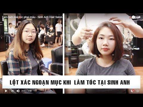 Tạm biệt mái tóc xơ rối/ Lột xác Tập 2 - Sinh Anh Hair Salon