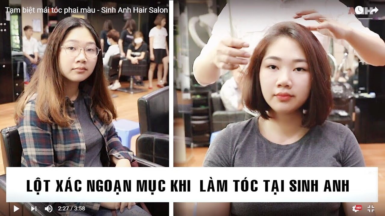 Tạm biệt mái tóc xơ rối/ Lột xác Tập 2 – Sinh Anh Hair Salon | Salon và các thông tin mới nhất