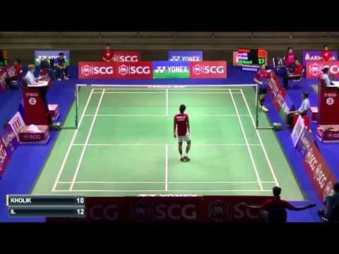 2015 SCG Thailand Open R16 MS Lee Hyun Il vs Firman Abdul Kholik
