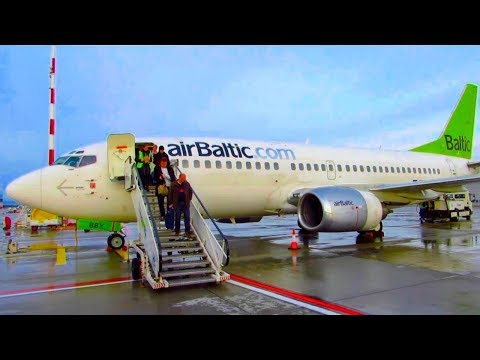 Air Baltic Economy B737-500 Flight REVIEW | Moscow To Riga