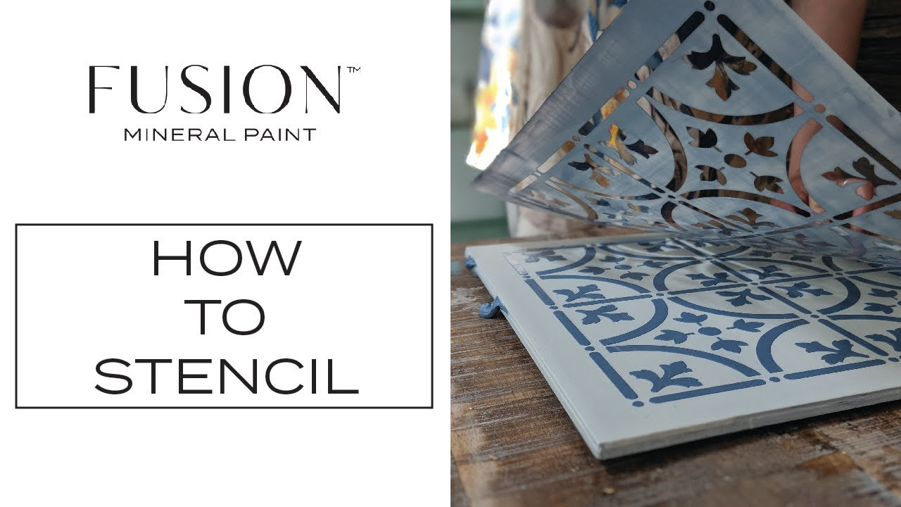 For the love of Stencils! • Fusion™ Mineral Paint